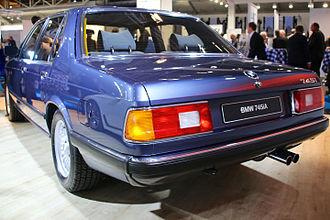 BMW 7 Series (E23) - 745i rear