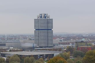 BMW Headquarters - Image: BMW Headquarters in munich