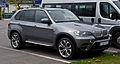 BMW X5 (E70, Facelift) – Frontansicht, 1. Mai 2012, Wülfrath.jpg