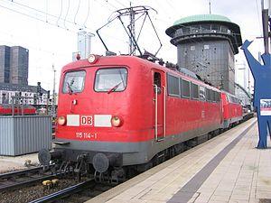 DB Class E 10 - DB Class 115 in Frankfurt