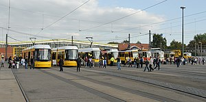 Trams in Germany - Trams in Berlin