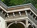 Bad Blankenburg - ehem. Hotel Chrysopras - Balkon an der Nordostfassade von Südosten 2.jpg