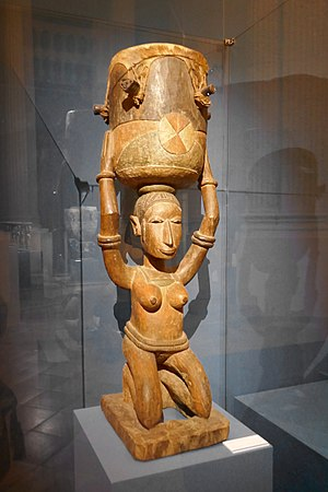 Baga people - Image: Baga Tambour féminin Èndèf