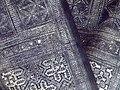 Bai fabric, tie-dyed - Yunnan Provincial Museum - DSC02213.JPG