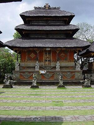 English: Shrine at Pura Puseh Temple in Batuan...