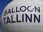 Balloon Tallinn Sign Tallinn 12 June 2015.JPG