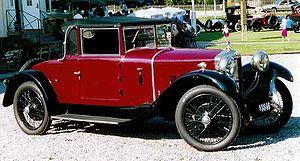 Ballot (automobile) - Ballot 2LTS Cabriolet 1925