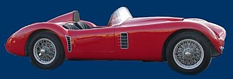 Bandini-Maserati 1500 - The profile of Bandini-Maserati.