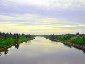 Aceh River - The Aceh River floodway