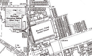 Bank Street (football ground) - Image: Bank street land registry