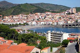 A general view of Banyuls-sur-Mer