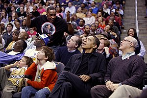 President Barack Obama attends a Washington Wi...