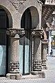"Barcelona (Eixample). Terrades house aka House of spires (""Casa de les punxes""). 1903-1905. Josep Puig i Cadafalch, architect (19424204369).jpg"