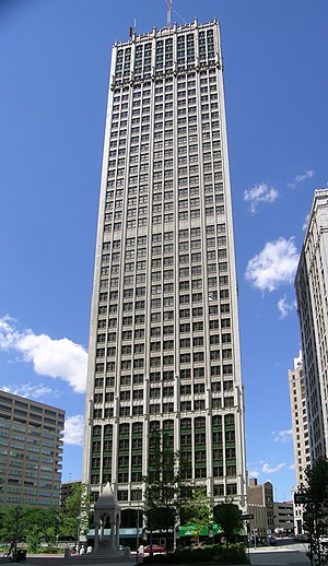 Cadillac Tower - Image: Barlum Tower Detroit