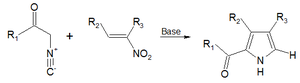 Nitroalkene - Image: Barton Zard reaction