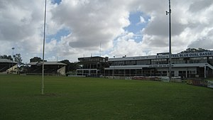 Swan Districts Football Club - Blue Steel Oval grandstands 2009