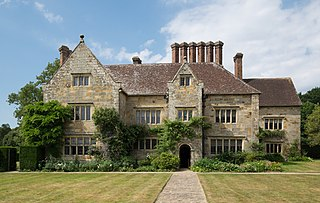 17th-century house located in Burwash, East Sussex, England