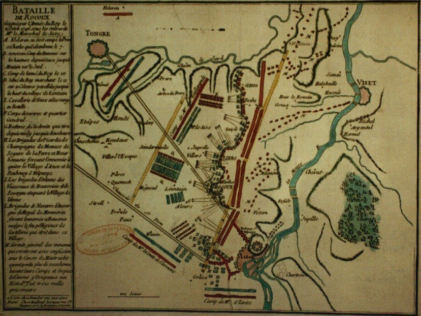Battle of Roucoux plan