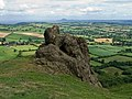 Battlestones and the Wrekin - geograph.org.uk - 1405276.jpg