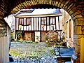 Baume-les-Dames. Cour intérieure comtoise, Belzacq. 2015-02-13..JPG
