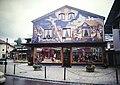 Bavaria Oberammergau Village Square, Crucifixion Mural (9812956645).jpg