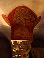 Bayeux (14) Cathédrale Crypte Ange musicien 18.JPG
