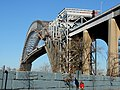 Bayonne Bridge scaffolding from Morningstar Rd jeh.JPG