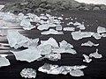 Beach full of ice in Jökulsarlon Iceland.JPG