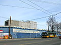 Beacon Hill Station blue wall and Metro bus.jpg