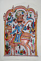 Bearded knight with scepter, folk art, Bharatiya Lok Kala Museum, Udaipur, India.jpg