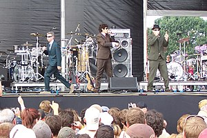 Beastie Boys discography - The Beastie Boys performing at the Virgin Festival in 2007.