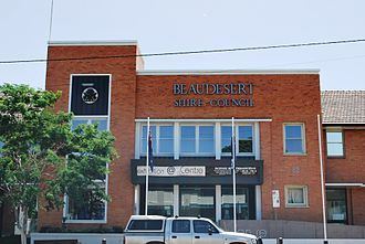 Beaudesert Shire - Offices of the former Beaudesert Shire Council, at 82 Brisbane Street, Beaudesert, 2008