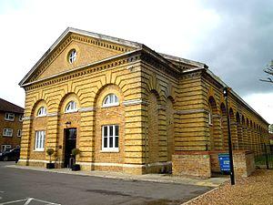 Grade II* listed buildings in Rushmoor - Image: Beaumont Riding School Aldershot