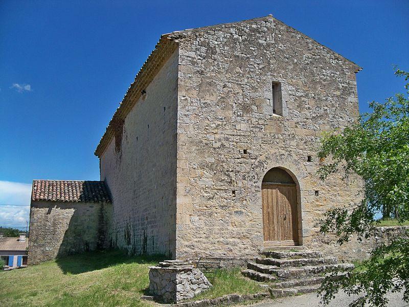 Chapelle Notre-Dame de Beauvoir de Beaumont-de-Pertuisdécor intérieur (Inscrit)