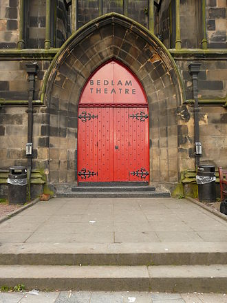 Bedlam Theatre - Entrance to the theatre