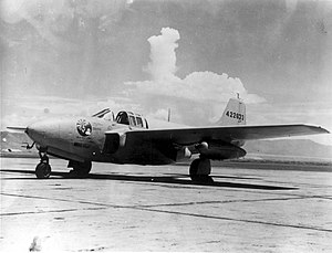 445th Flight Test Squadron - Bell P-59B Airacomet Reluctant Robot
