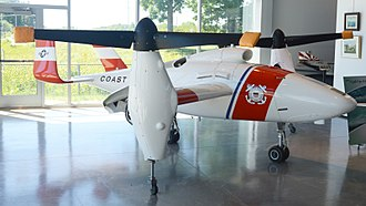 Bell Eagle Eye - TR911X second prototype
