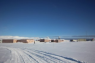 Bellingshausen Station Antarctic base