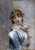 Bemberg Fondation Toulouse, Elégante à la robe bleu, Giovanni Boldini, Inv.2181 72x51.jpg