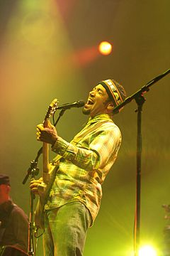 Ben Harper at the Eurockéennes in 2008