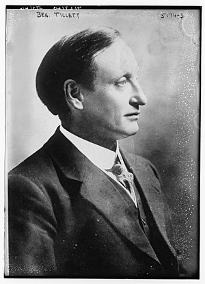 Ben Tillett - Ben Tillett in 1920