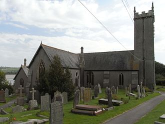 Grade I listed buildings in West Devon - Image: Bere Ferrers Church