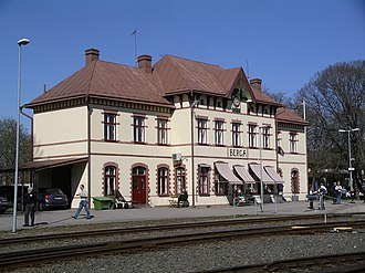 Berga, Högsby Municipality - Berga train station