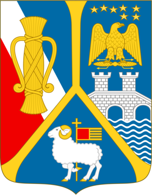 Count of Wisborg - Coat of Arms of the Counts of Wisborg, established in 1892.