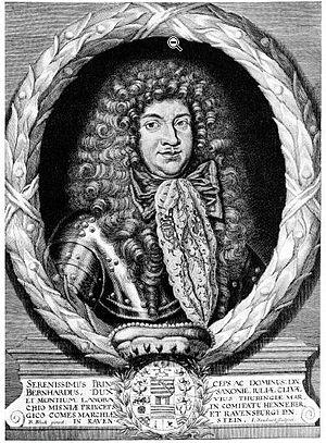 Bernhard II, Duke of Saxe-Jena - Image: Bernhard II, Duke of Saxe Jena