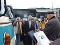 Beroun, DOD Probotrans 2007, křest historického autobusu Škoda RTO LUX.JPG