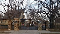 Beth David Cemetery gate.jpg