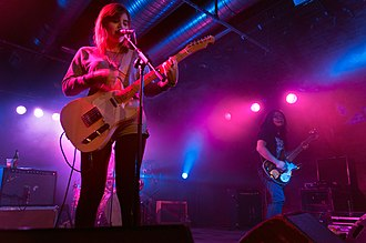 Best Coast - Best Coast at the Arches, Glasgow in 2011.
