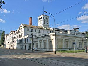 Central Museum of Textiles, Łódź - Image: Biała Fabryka w Łodzi