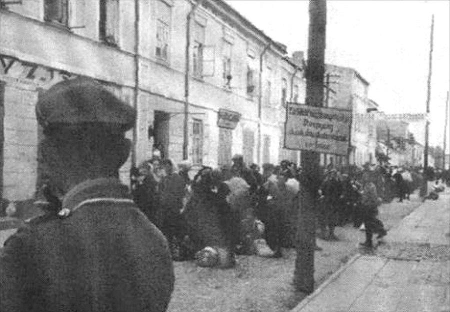 Biala Podlaska - likwidacja getta - 1942